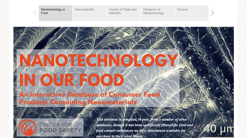 Center for Food Safety | Issues | | Nanotechnology